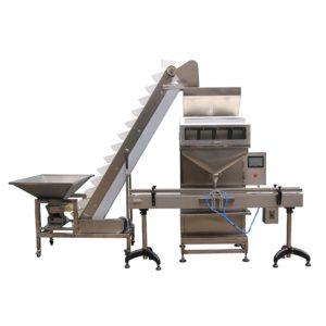 Αυτόματο γεμιστικό μηχάνημα κόκκους, ρύζι, όσπρια, ξηροί καρποί, ζυμαρικά, λιπάσματα