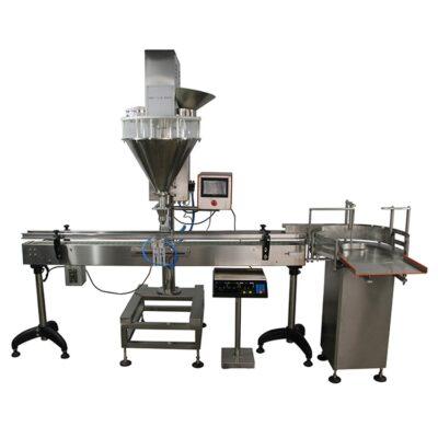 Αυτόματο γεμιστικό μηχάνημα για σκόνη, αλευρι, ζάχαρη, καφέ, στόκος