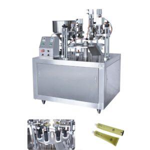 Αυτόματο γεμιστικό κλειστικό μηχάνημα για μεταλλικά σωληνάρια