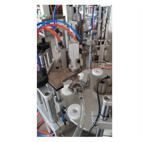 Αυτόματο γεμιστικό κλειστικό μηχάνημα μεταλλικά σωληνάρια 4