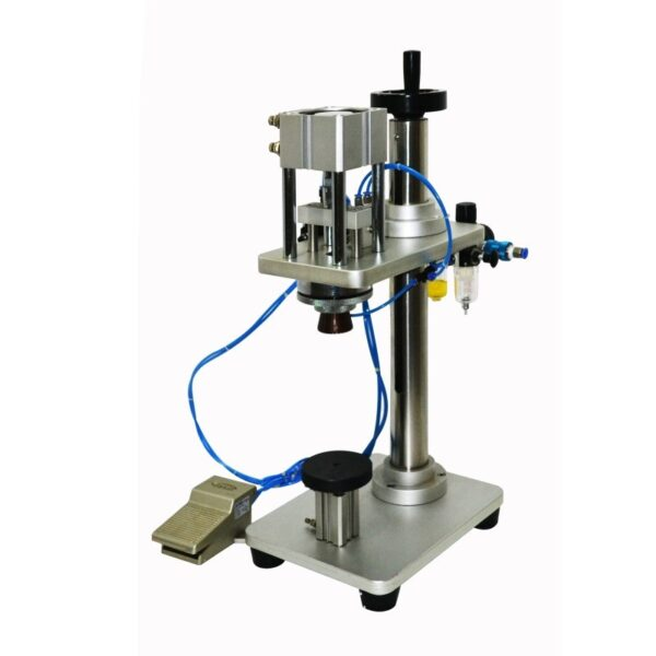 Semi automatic capping machine for spray caps perfumes